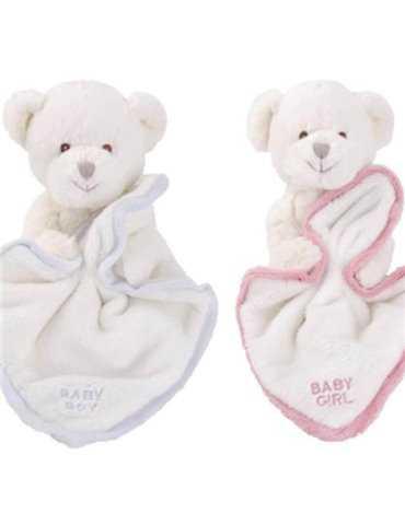Vitt diadem med strass och blommor
