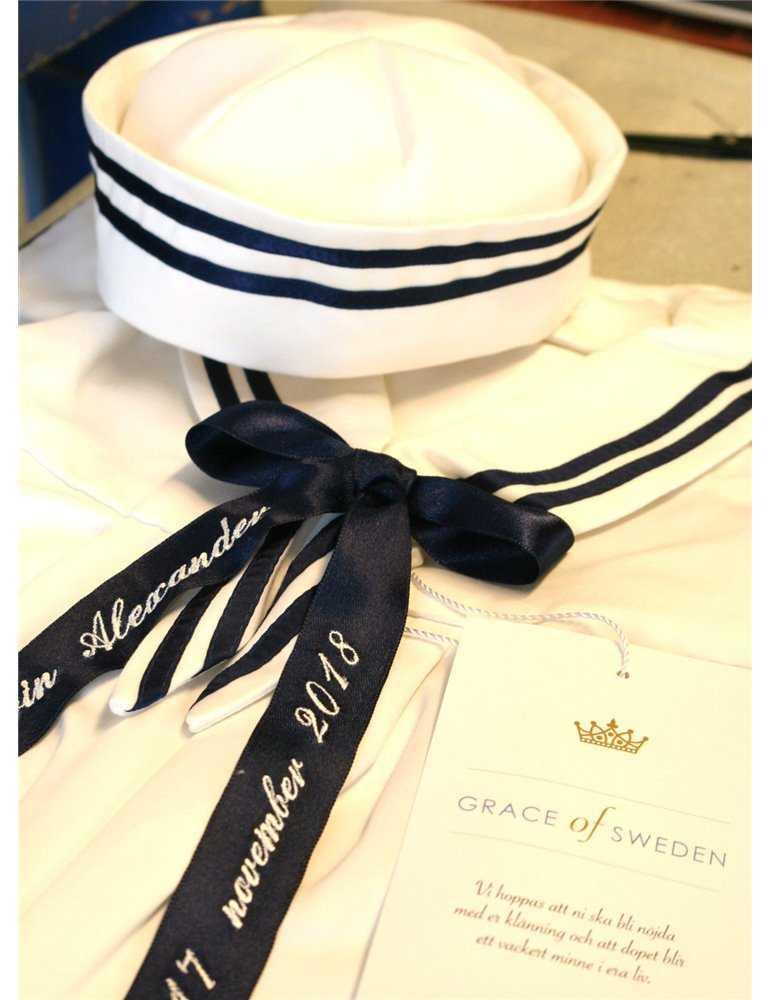Sängkläder för spjälsäng med eget val av broderi