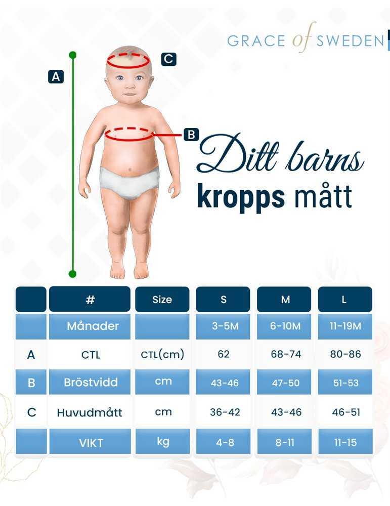 Ljusblå Babyfilt med prickar
