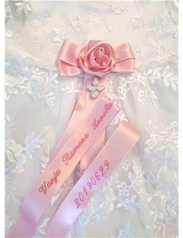 sjömansklänning med dophätta i sjömansstil
