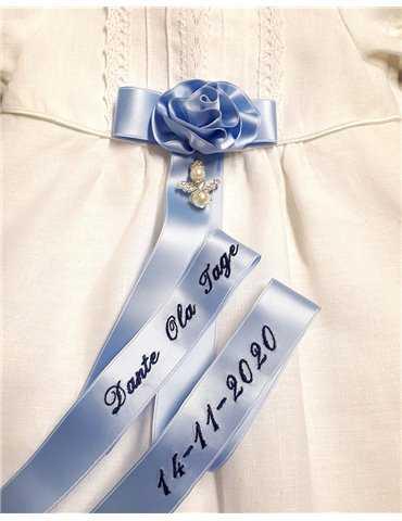 Badcape med kors för Ortodoxa dop, finns i 7 färger