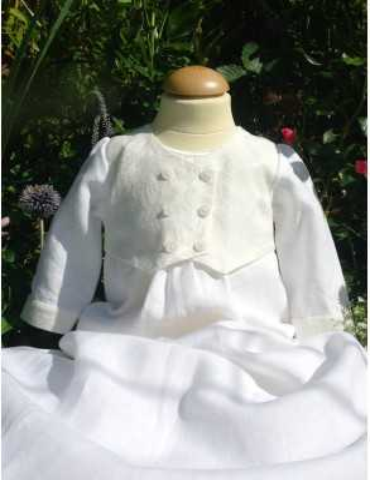Dopklänning Grace-Philip Old Brokad