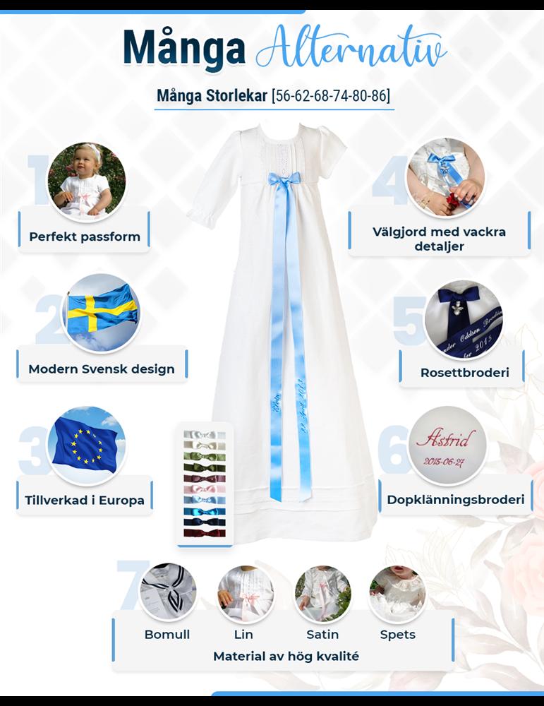 Dopklänning från grace of sweden
