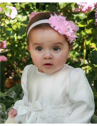 Dopklänning Grace-Philip Off White