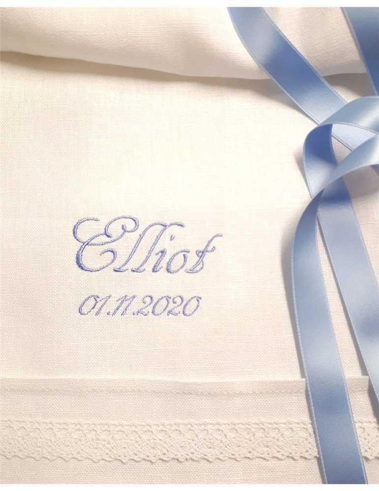 Dophättai klassiskt vitt lin