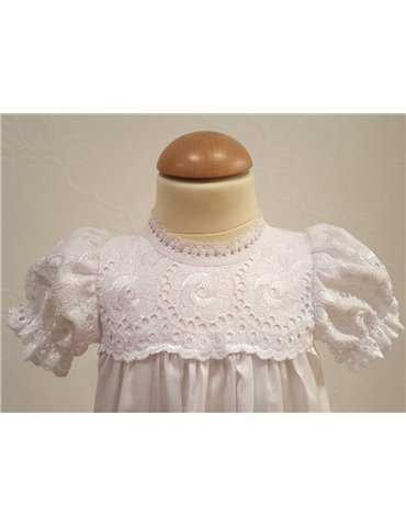 Rosa rosettdiadem med blomma