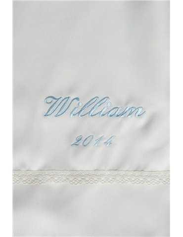 lång Dopklänning sjömansklänning