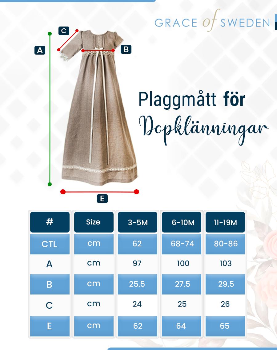 Min första teddybjörn med rosa rosett
