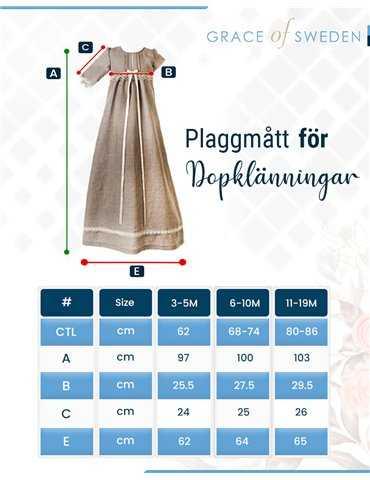 Babyfilt med nallebjörnar